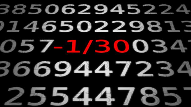 Zahlen, bitte! Die achte Bernoulli-Zahl, ein Programmierfehler und der Weg zur KI