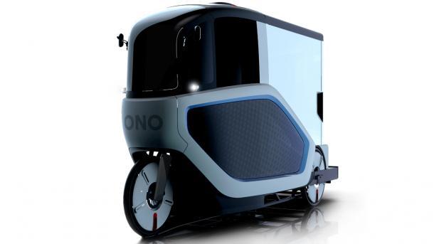 Elektro-Lastrad: Ono zeigt Last-Pedelec mit Fahrerkabine