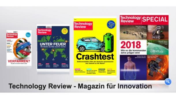Technology Review: Jahresrückblick auf 2018