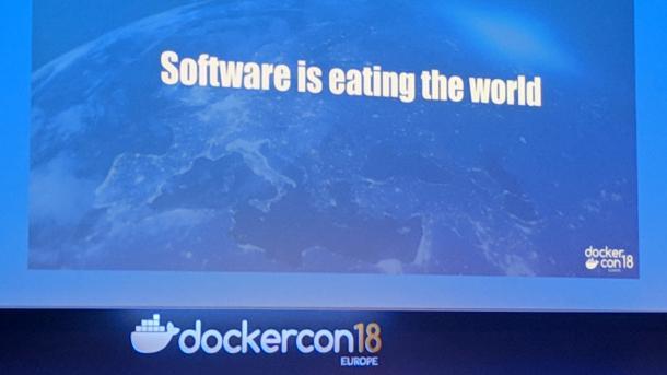 Software is eating the world bei der DockerCon EU