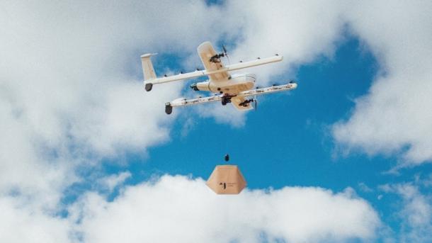 Wing-Lieferdrohnen sollen über Helsinki fliegen