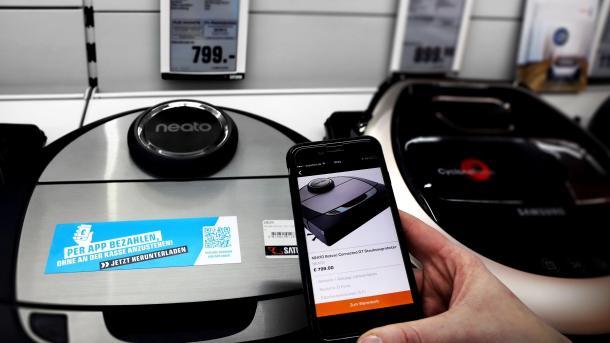 Saturn testet Zahlungssystem ohne Kasse im Weihnachtsgeschäft