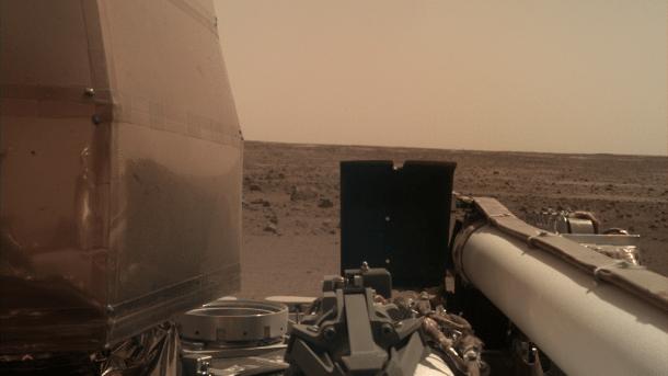 NASA-Sonde Insight: Audioaufnahmen des Windes auf dem Mars