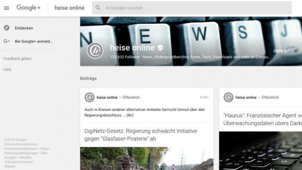 Neues API-Leck: Google+ schließt früher
