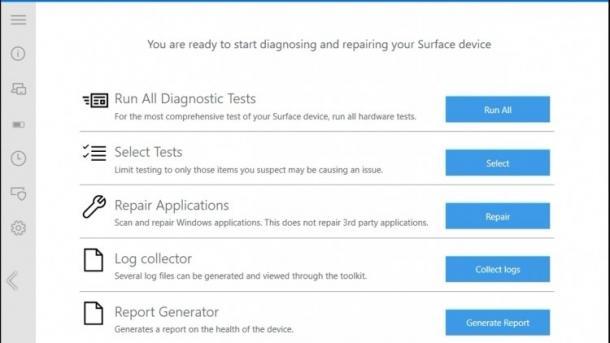 Microsoft-Werkzeug soll Admins bei Problemen mit Surface-Geräten helfen
