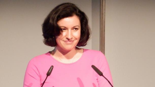 Dorothee Bär, CSU, Staatssekretärin, Bundesministerium Verkehr und Infrastruktur, Breko-Jubiläum, 26.06.14