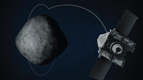 NASA-Sonde Osiris Rex erreicht Umlaufbahn von Asteroid Bennu