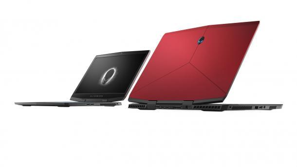 Alienware: Flache Gaming-Notebooks mit GeForce RTX