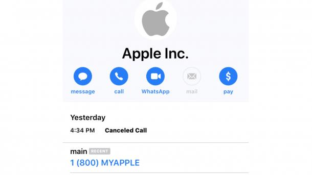 Telefonbetrug Apple Support Rufnummer Soll Kunden Täuschen Heise