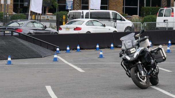Selbstfahrendes Motorrad von BMW