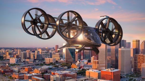 Bell Nexus: Das Flugtaxi für Uber