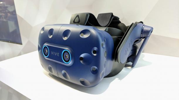 Vive Pro Eye: VR-Headset mit Eye-Tracking ausprobiert