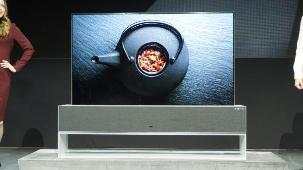 Aufrollbares OLED-TV von LG noch in diesem Jahr erhältlich