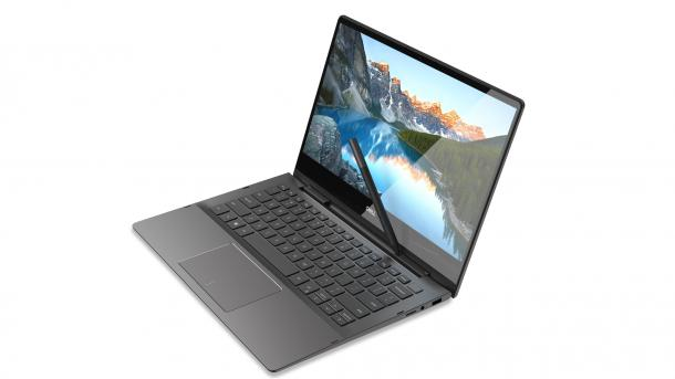 Inspiron 7000 2-in-1: Hybrid-Notebooks mit Stiftgarage