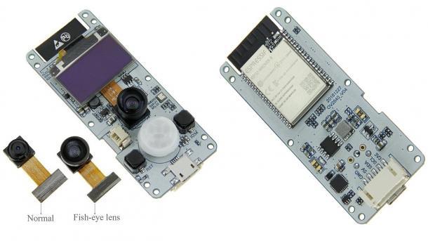 Gesichtserkennung mit ESP32-WLAN-Kameraboards ab 15 Euro