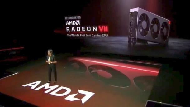 AMD Radeon VII: Highend-Grafikkarte mit 7-nm-CPU kommt am 7. Februar