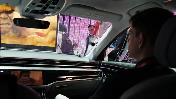 Audi: Aktivfahrwerk fürs private Autokino