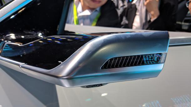 Audi: Virtueller Außenspiegel erstmals in einem Serienfahrzeug