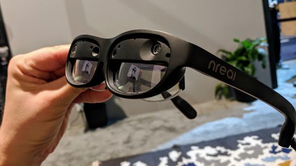 CES-Überraschung Nreal Light: AR-Headset in Sonnenbrillen-Größe für unter 1000$ ausprobiert