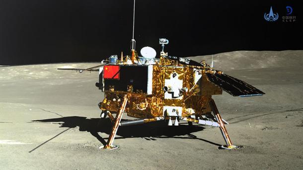 Chinas Sonde Chang'e 4: Mehr Bilder und erste Videos von der Rückseite des Mondes
