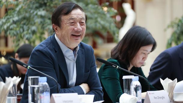 """Huawei-CEO: """"Bei Sicherheit und Datenschutz sind wir an der Seite unserer Kunden"""""""