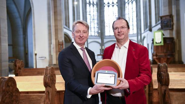 Digitale Kollekte: Duisburger Kirche testet bargeldlose Spende