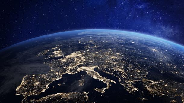 Europa, Wetall, Globus