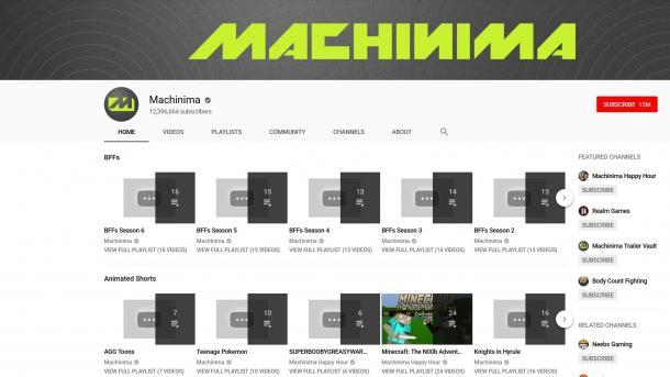 #RIPMachinima: Legendärer Youtube-Kanal entfernt alle Videos