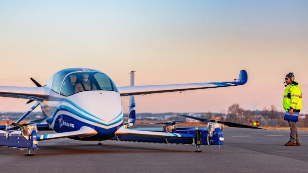 Autonomes Flugtaxi: Boeing PAV absolviert ersten Testflug