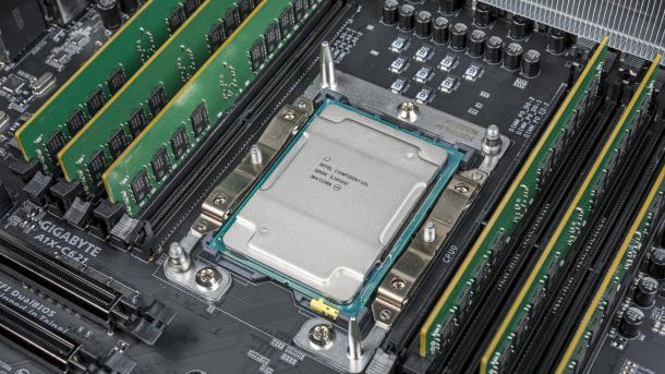 Intel Xeon W-3175X: Mit 28 Kernen gegen Ryzen Threadripper 2000