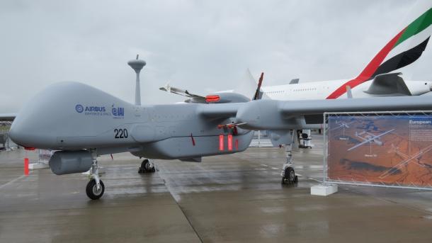 Heron TP MALE Klasse Drohne Kampfdrohne