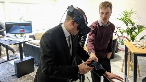 VR Lab eröffnet: Hannover will Virtual-Reality-Hauptstadt werden
