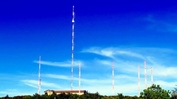 große Rundfunkantennen