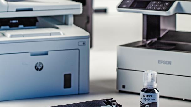 Schwarzweißdruck fürs Büro: Toner oder Tinte?