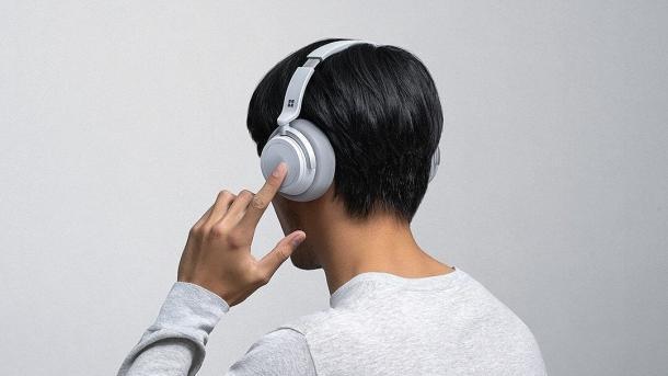 Surface Headphones: ANC-Kopfhörer von Microsoft ab März erhältlich