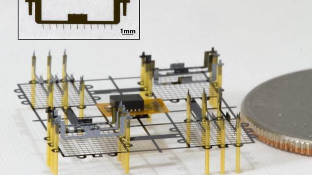 2 x 2 Zentimeter: Die kleinste Drohne der Welt mit EHD-Triebwerken