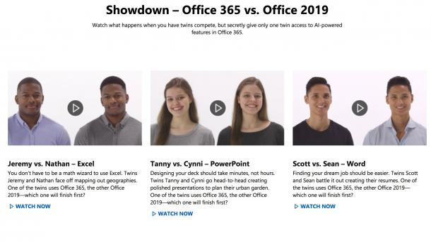 Microsoft rät indirekt vom Office-2019-Kauf ab