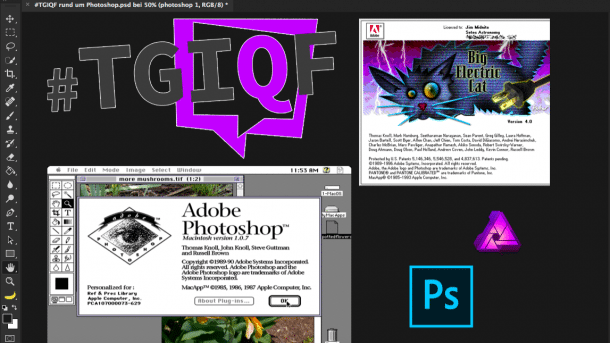 #TGIQF - Photoshop und Co.