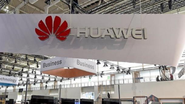 Huawei-Stand auf der CeBIT