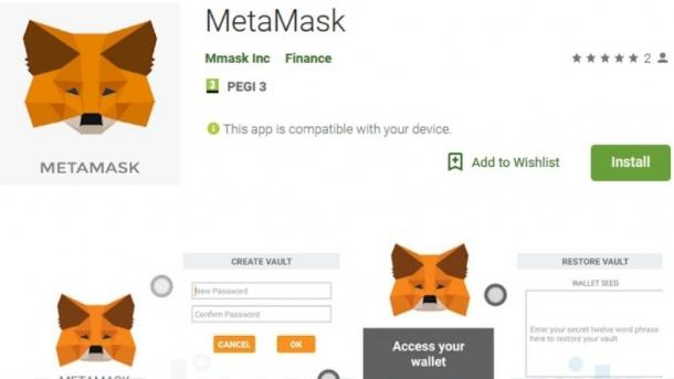 Fake-App in Googles Play Store sollte Kryptogeld stehlen