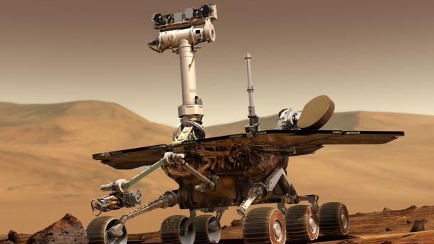 Mars-Rover Opportunity: Auch letzter Kontaktversuch ohne Erfolg