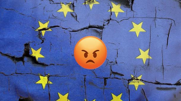 EU, Europa, Mauer, Putz