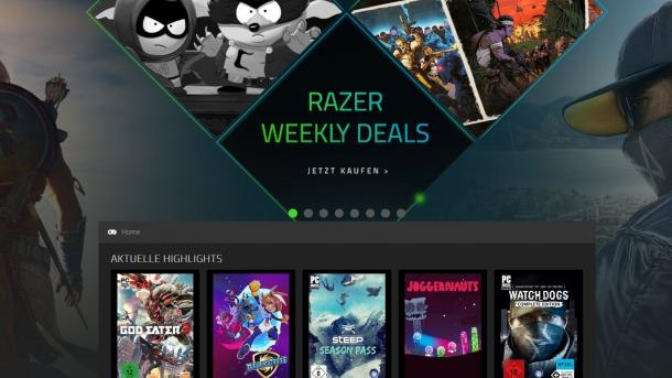 Razer schließt den Game Store