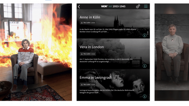 Zweiter Weltkrieg als Augmented Reality WDR-App