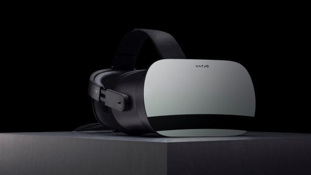 Varjo VR-1: Superscharfes VR-Headset mit Tunnelblick