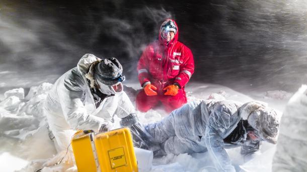 """Polar-Forschungsprojekt """"Mosaic"""": Sprung ins kalte Wasser für die Forschung"""