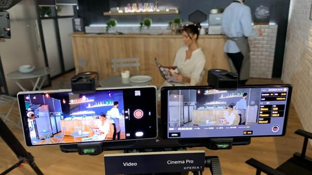 "Sony Experia 1: 4K-HDR-Aufnahmen im 21:9-Format mit ""Kino-Look"""