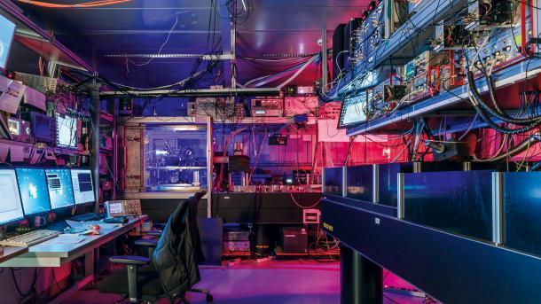 Labor der Innsbrucker Quantenforscher