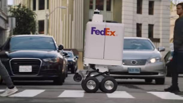 FedEx SameDay Bot: Wenn der Paketroboter zweimal klingelt