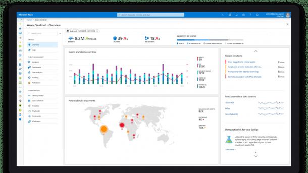 Azure Sentinel und Threat Experts: Microsoft präsentiert zwei neue Security-Lösungen